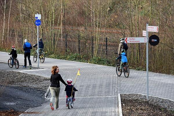Cycling in Bochum